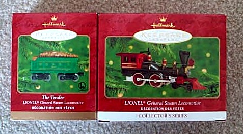 2000 Lionel # 5 General Steam Loco And Tender Set. (QX6684, QX6834)