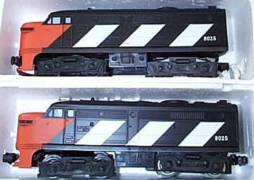 Lionel 8025 Canadian National A-A 027 Diesel. Excellent Minus Condition.