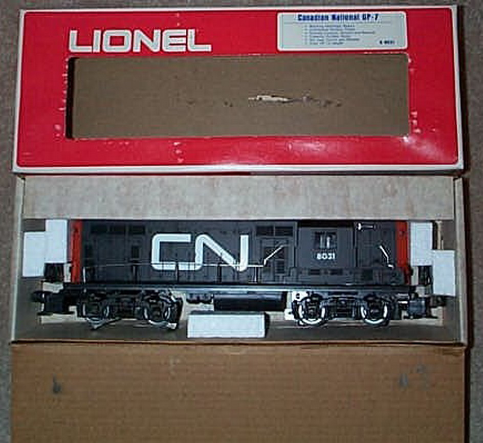 Lionel 8031 Canadian National GP-7 Diesel. Mint Condition.