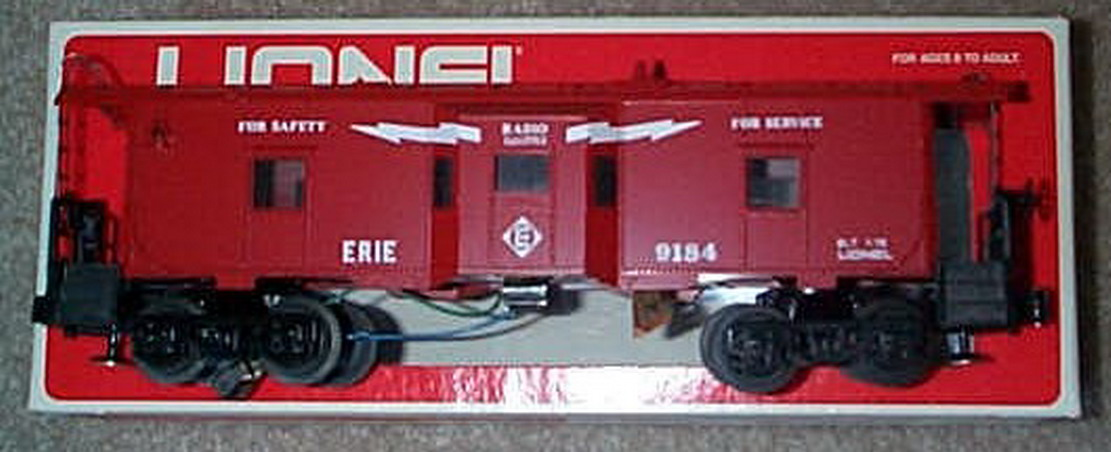 1977-1978 Lionel 9184 Erie Bay Window Caboose. Mint Condition.