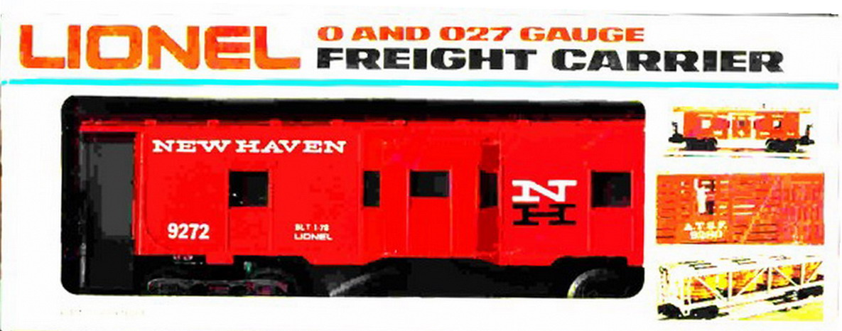 Lionel 9272 New Haven Bay Window Caboose. Mint Condition.