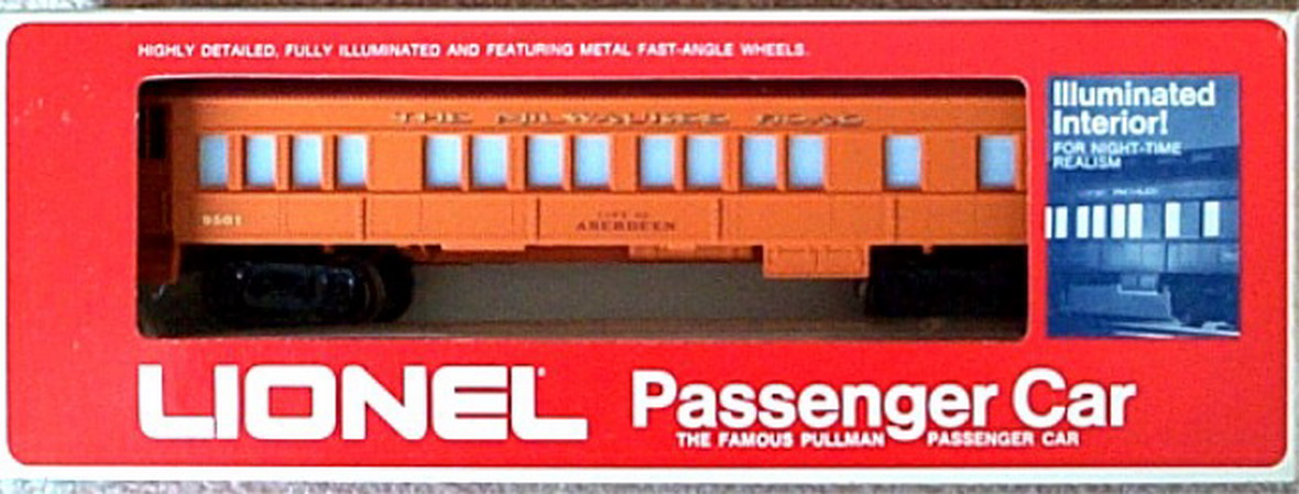 Lionel 9501 City of Aberdeen Coach. Mint Condition.