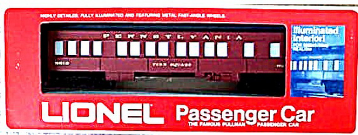 Lionel 9513 Penn Square Pennsylvania Passenger Car. Mint Condition.