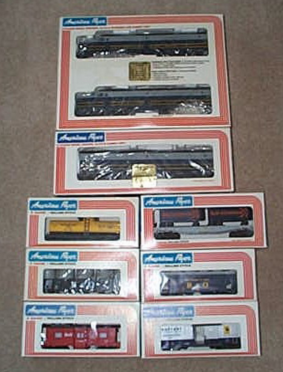 American Flyer 8153 B & O Freight Set One. Mint Condition.