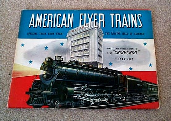 1941 Gilbert American Flyer Catalog (D1390) Very Good Condition