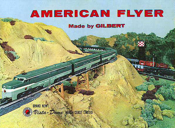 1956 Gilbert American Flyer Consumer Catalog (D1867) Mint Condition