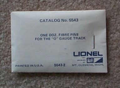 0 Fiber Insulation Pins Pkg Of Twelve (6-5543)