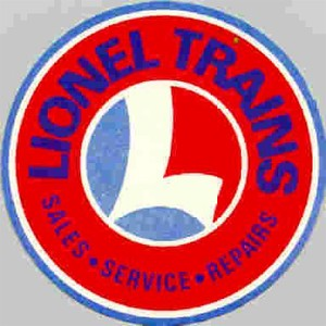 1957 Lionel Service Station Sticker. Mint Condition.