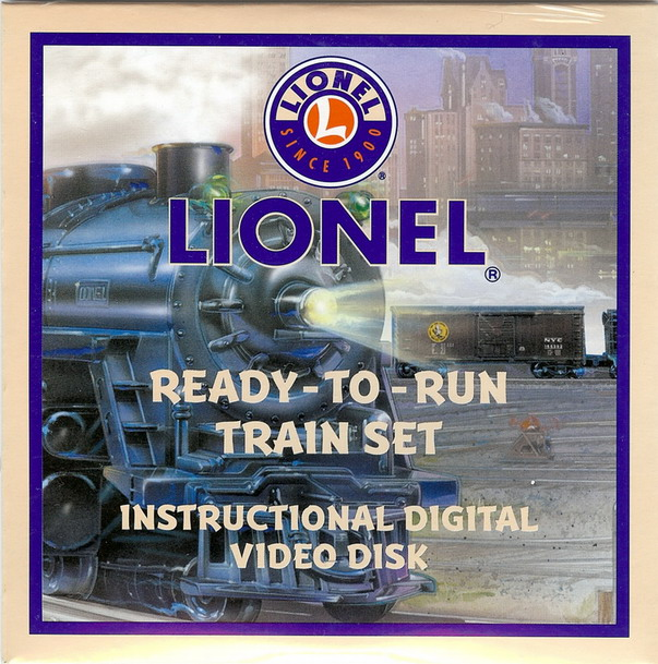 2004 Lionel Ready-To-Run DVD Disk (71-4208-200)